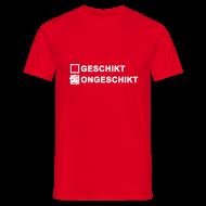 T-shirts ~ Mannen T-shirt ~ Ongeschikt - heren klassiek