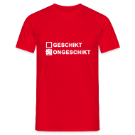 T-shirts ~ Mannen T-shirt ~ Ongeschikt - heren klassiek