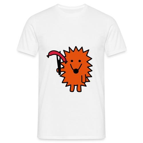 T-Shirt Grill-Igel - Männer T-Shirt