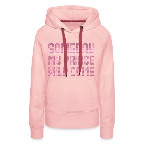 SOMEDAY.... pink hoodie - Frauen Premium Hoodie