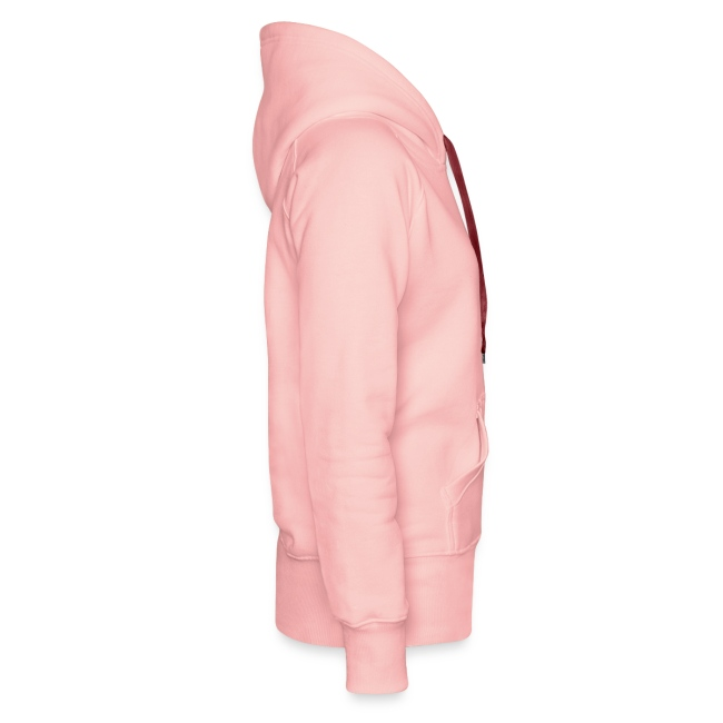 I LOVE STEAK girl hoodie pink