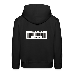 PRODUCED - enter your own birthday date - Kids' Premium Hoodie