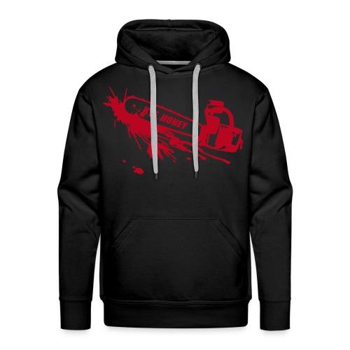 BYE, HONEY! men's hoodie black - Männer Premium Hoodie