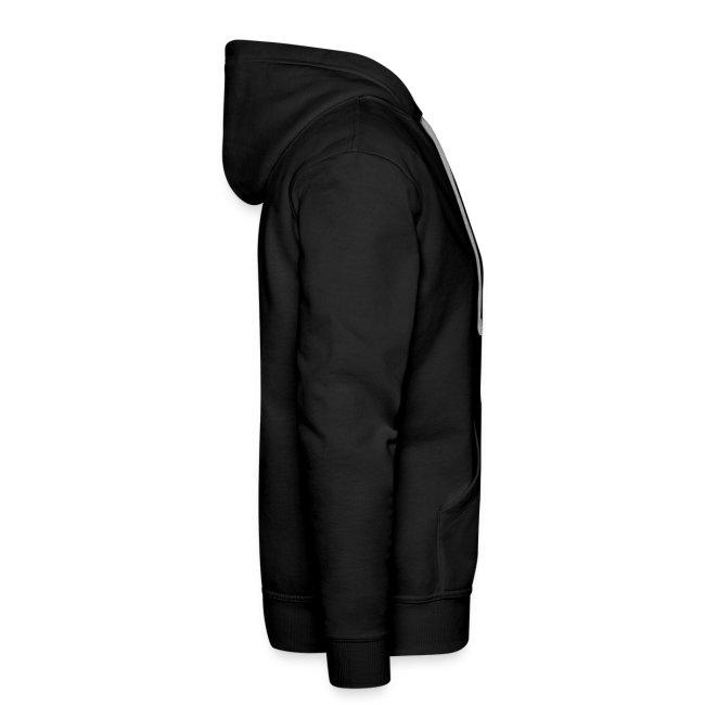 BYE, HONEY! men's hoodie black