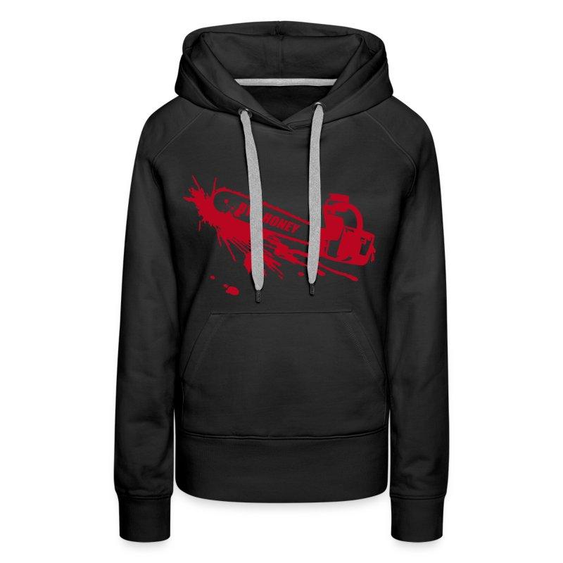 BYE, HONEY! hoodie black - Frauen Premium Hoodie