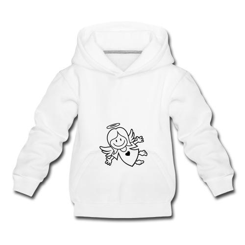 Engel-Pullover - Kinder Premium Hoodie
