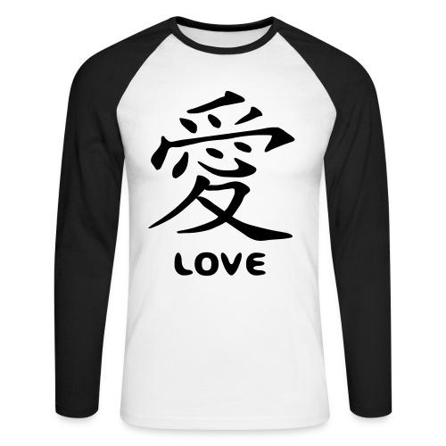 ML-2C Amor chino - Raglán manga larga hombre