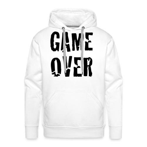 Game Over - Felpa con cappuccio premium da uomo