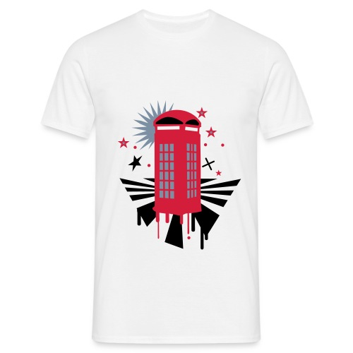 Phone Booth Men's Shirt - Men's T-Shirt