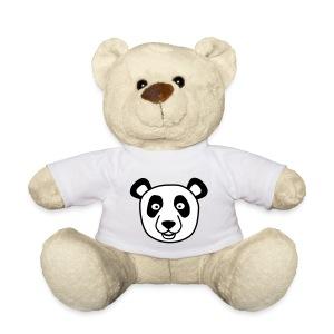 Teddybeer met Panda shirt - Teddy