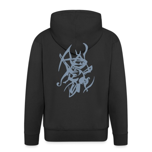 Ninja silver - Men's Premium Hooded Jacket