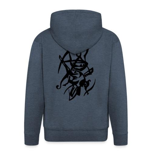 Ninja  - Men's Premium Hooded Jacket