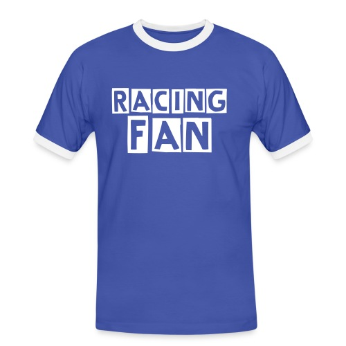RACING FAN - T-shirt contrasté Homme