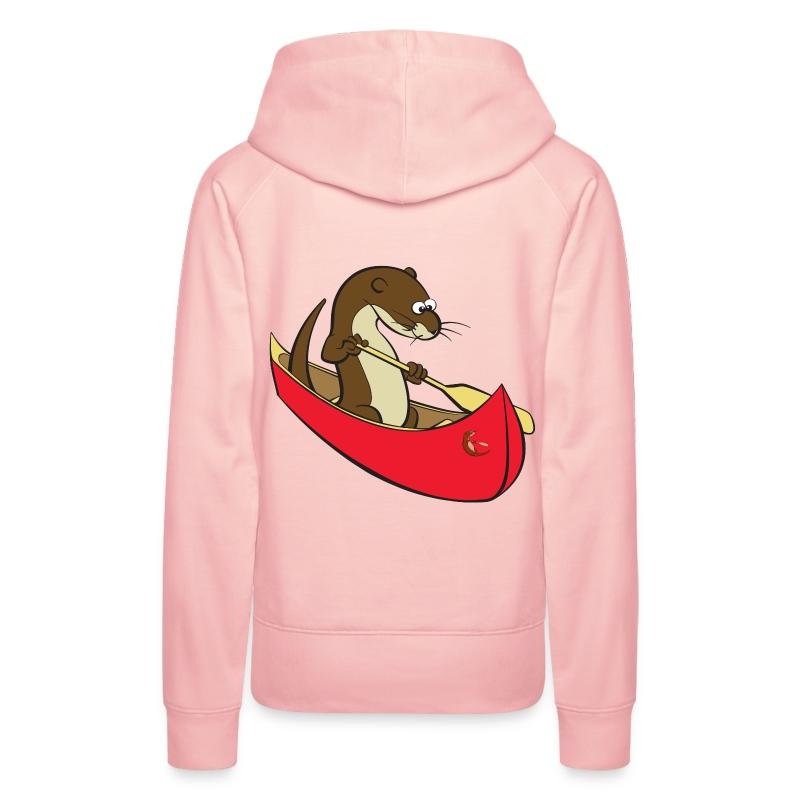 redcanoewithsticker - Women's Premium Hoodie