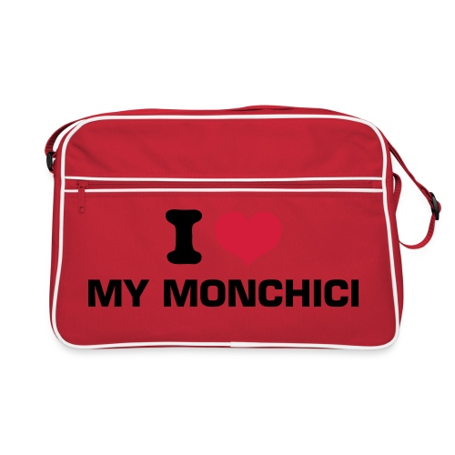 Retro Monchichi Tas - Retro-tas