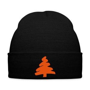 Czapka zimowa świąteczna czarna - Czapka zimowa