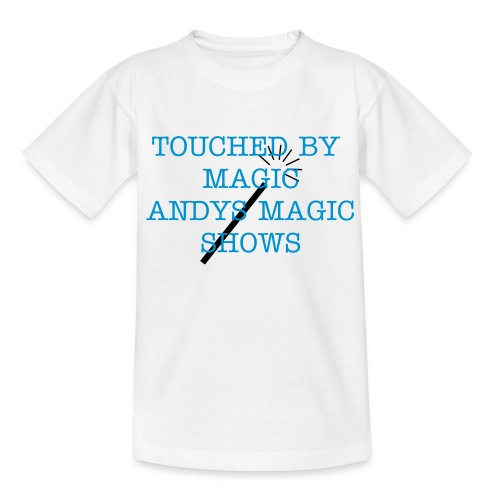 TOUCHED BY   MAGIC  - Teenage T-shirt