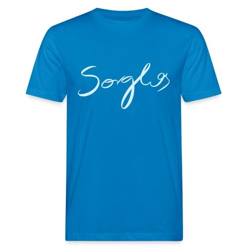Sorglos-Männershirt - Männer Bio-T-Shirt