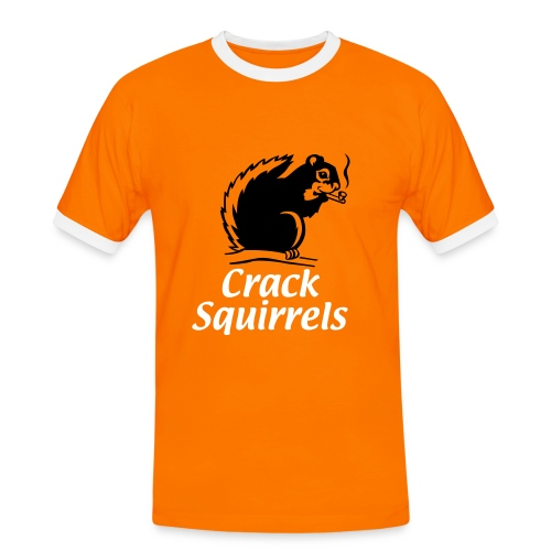 Crack Squirrel T - Men's Ringer Shirt