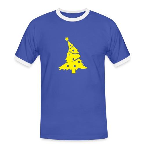 Maglietta Natale Sport - Maglietta Contrast da uomo