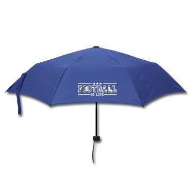football is life deluxe Umbrellas