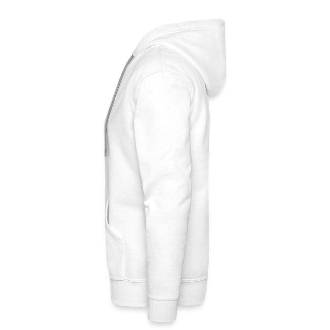 BYE, HONEY! men's hoodie white