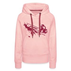 BYE, HONEY! hoodie cute pink - Frauen Premium Hoodie