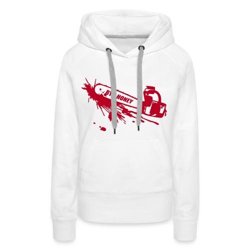 BYE, HONEY! hoodie white - Frauen Premium Hoodie