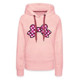 CUTE RIBBON hoodie pink - Frauen Premium Hoodie