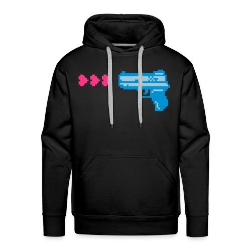 PIXELGUN men's hoodie black - Männer Premium Hoodie