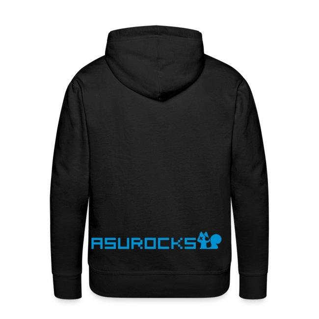 PIXELGUN men's hoodie black