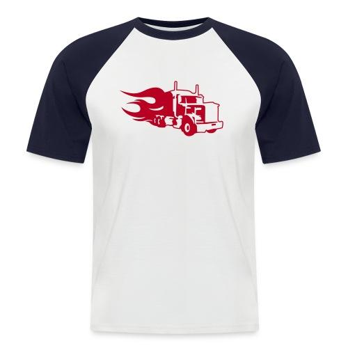 Maglietta Flaming Tir - Maglia da baseball a manica corta da uomo