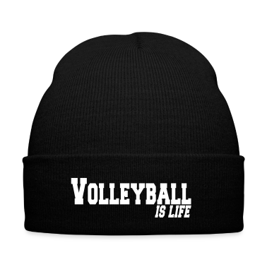 volleyball is life Caps & Hats