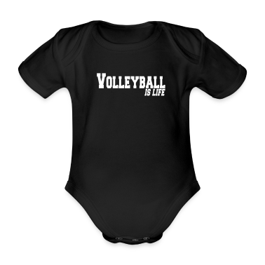 volleyball is life Baby Bodysuits