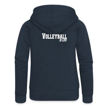 volleyball is life Coats & Jackets