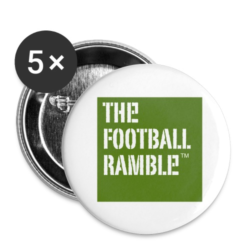 Ramble small badges - Buttons small 1''/25 mm (5-pack)