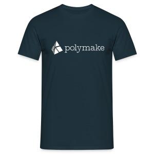 polymake Männer-T-Shirt weiß - Men's T-Shirt