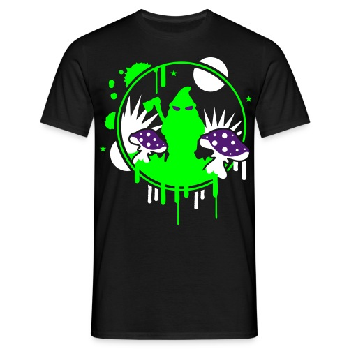 T-Shirt Night Herren - Männer T-Shirt