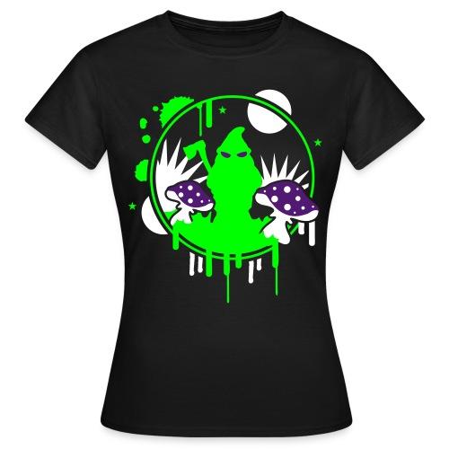 T-Shirt Night Damen - Frauen T-Shirt