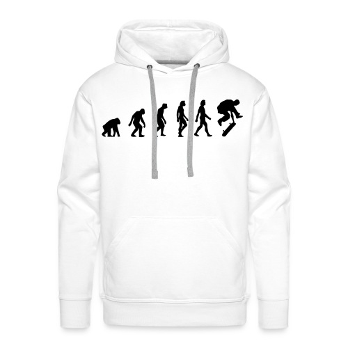 MAN EVOLUTION - Men's Premium Hoodie