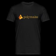 T-Shirts ~ Men's T-Shirt ~ polymake men's t-shirt (orange)