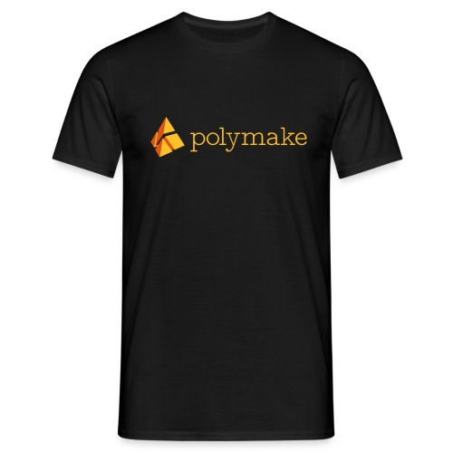 polymake men's t-shirt (orange) - Men's T-Shirt