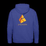 Hoodies & Sweatshirts ~ Men's Premium Hoodie ~ polymake men's hoodie (orange)