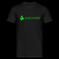 T-Shirts ~ Men's T-Shirt ~ polymake men's t-shirt (green)