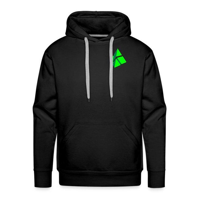 polymake men's hoodie (green)