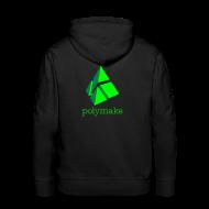 Hoodies & Sweatshirts ~ Men's Premium Hoodie ~ polymake men's hoodie (green)