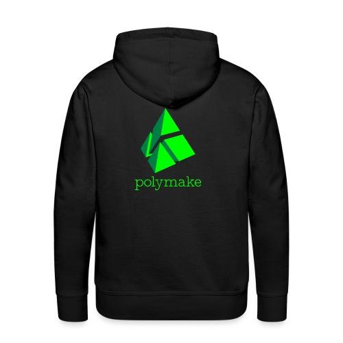 polymake men's hoodie (green) - Men's Premium Hoodie