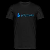 T-Shirts ~ Men's T-Shirt ~ polymake men's t-shirt (blue)