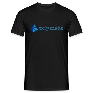 polymake men's t-shirt (blue) - Men's T-Shirt