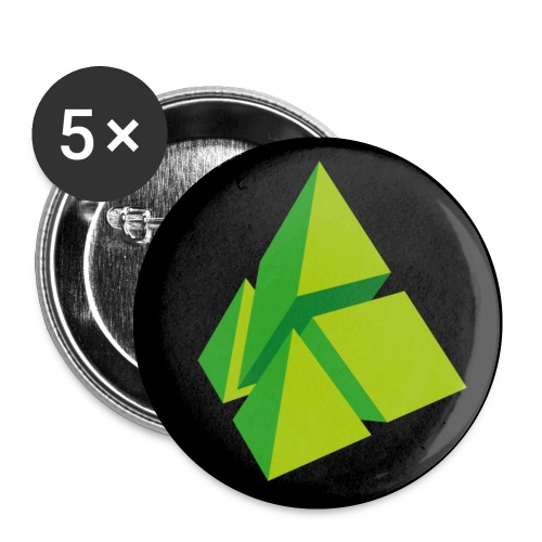 polymake button green - Buttons small 25 mm